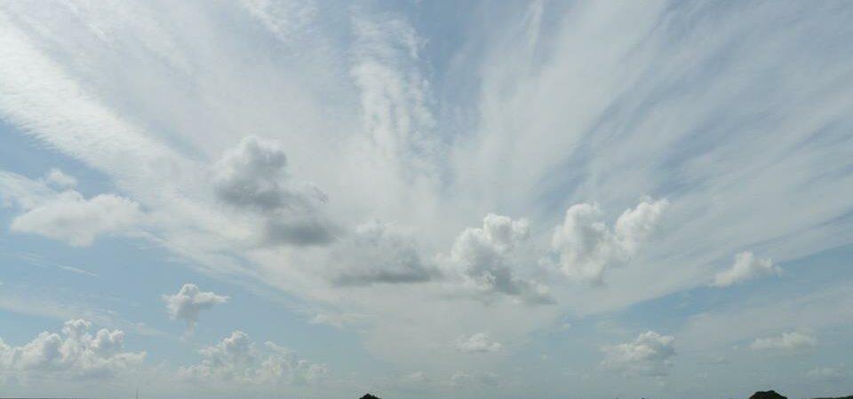 polder lucht met waaier