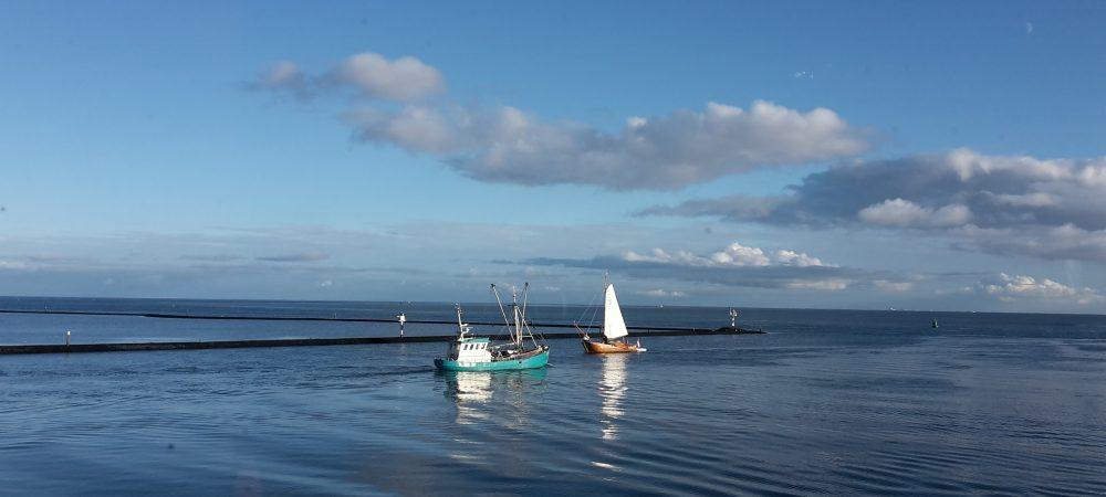 passerende boten Terschelling